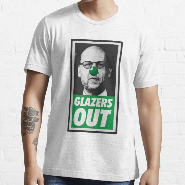 GlazersOut OBEY Parody Green Essential T-Shirt