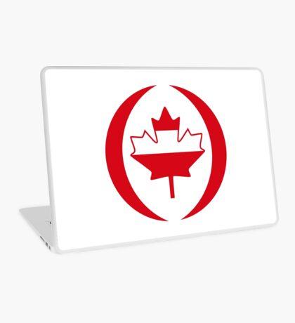 Austrian Canadian Multinational Patriot Flag Series Laptop Skin