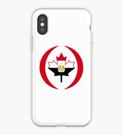 Egyptian Canadian Multinational Patriot Flag Series iPhone Case
