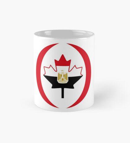 Egyptian Canadian Multinational Patriot Flag Series Mug