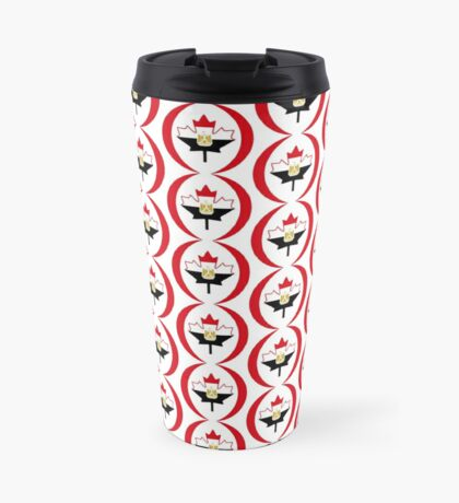 Egyptian Canadian Multinational Patriot Flag Series Travel Mug