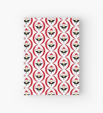 Egyptian Canadian Multinational Patriot Flag Series Hardcover Journal