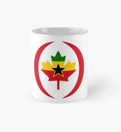 Ghanaian Canadian Multinational Patriot Flag Series Mug