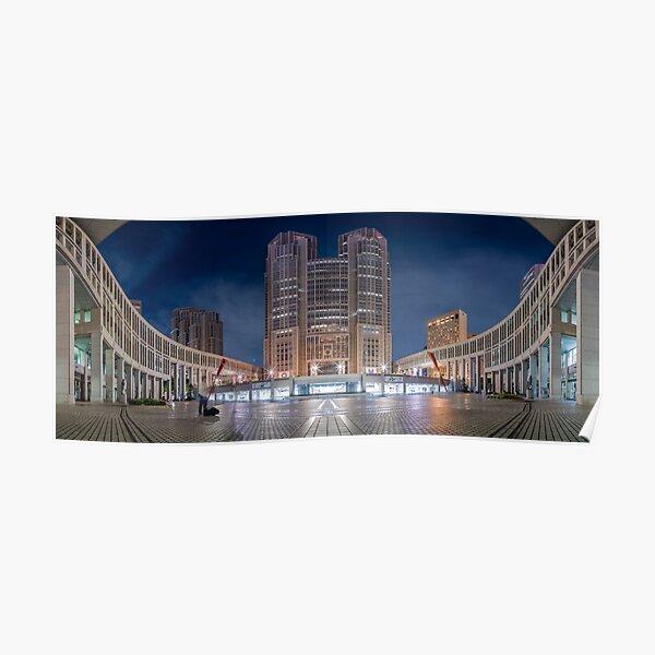 The Tokyo Metropolitan Government Building Poster
