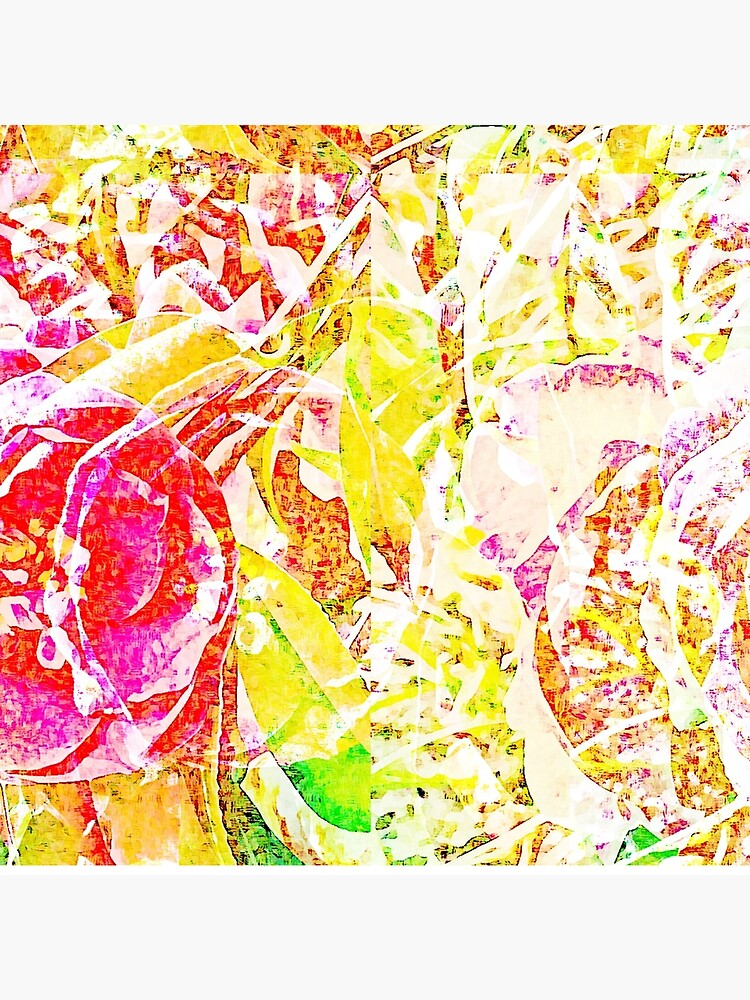 Floral Abstract - Vibrancy of Spring by KnutsonKr8tions