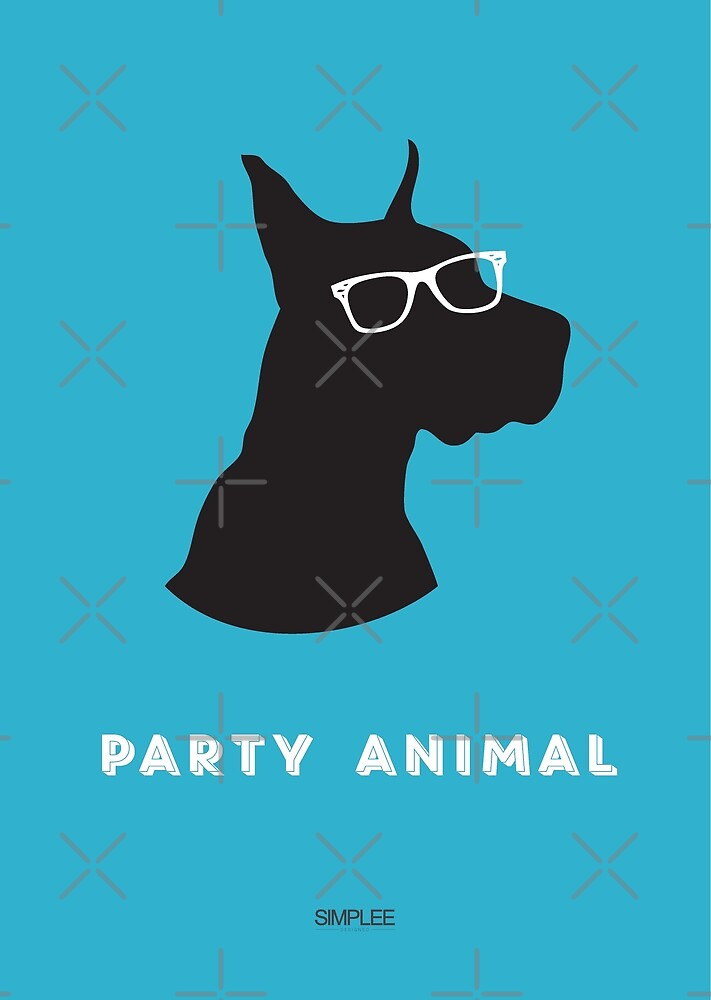 Simplee Cards: Party Animal 1 of 3 by SimpleeShop