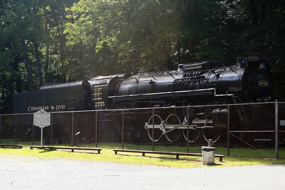 old steam locomotive by fotoflossy