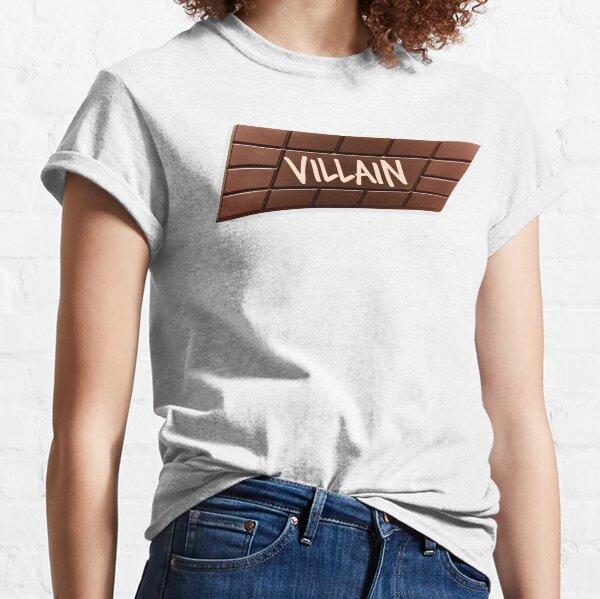 Bösewicht-Schokolade verdreht Box Classic T-Shirt