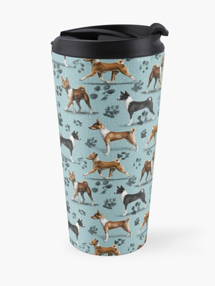 Alternate view of The Basenji Travel Mug