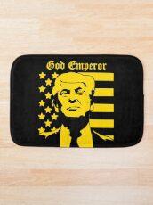 Trump - God Emperor Bath Mat