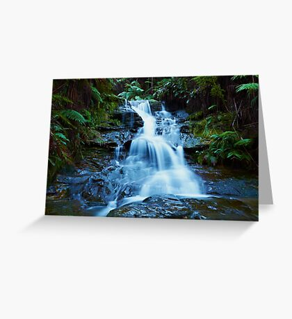 Leura Cascades - Blue Mountains NSW Greeting Card