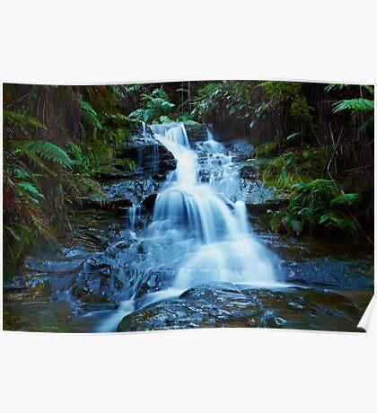 Leura Cascades - Blue Mountains NSW Poster