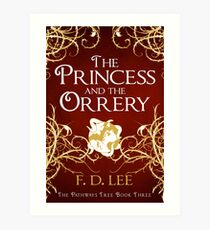 The Princess And The Orrery Cover Art Print