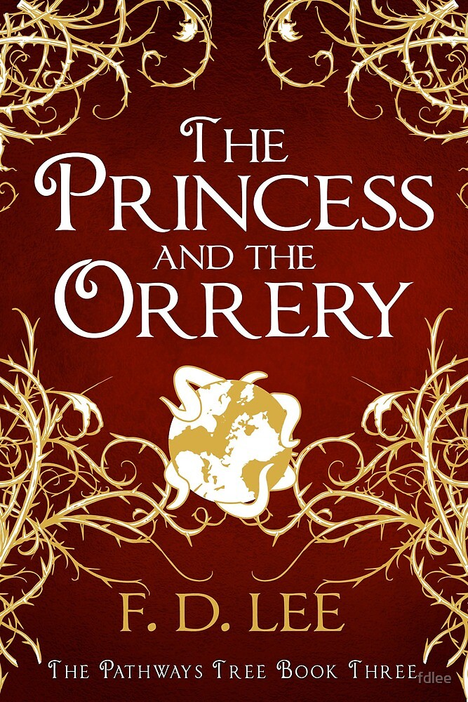 The Princess And The Orrery Cover by fdlee