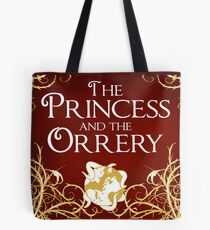 The Princess And The Orrery Cover Tote Bag