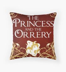 The Princess And The Orrery Cover Throw Pillow