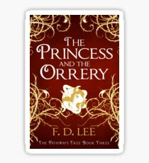 The Princess And The Orrery Cover Sticker