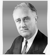 Franklin Delano Roosevelt  Poster