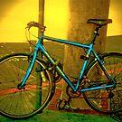Lone Bike by Nancy Stafford