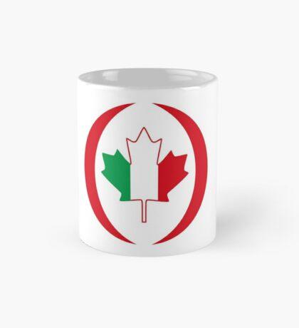 Italian Canadian Multinational Patriot Flag Series Mug