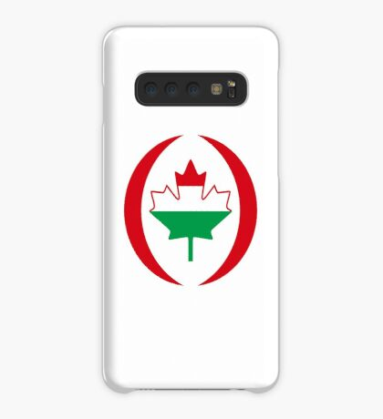 Hungarian Canadian Multinational Patriot Flag Series Case/Skin for Samsung Galaxy
