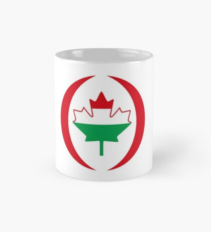Hungarian Canadian Multinational Patriot Flag Series Mug