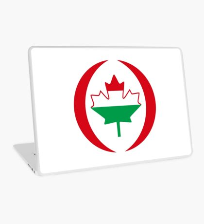 Hungarian Canadian Multinational Patriot Flag Series Laptop Skin