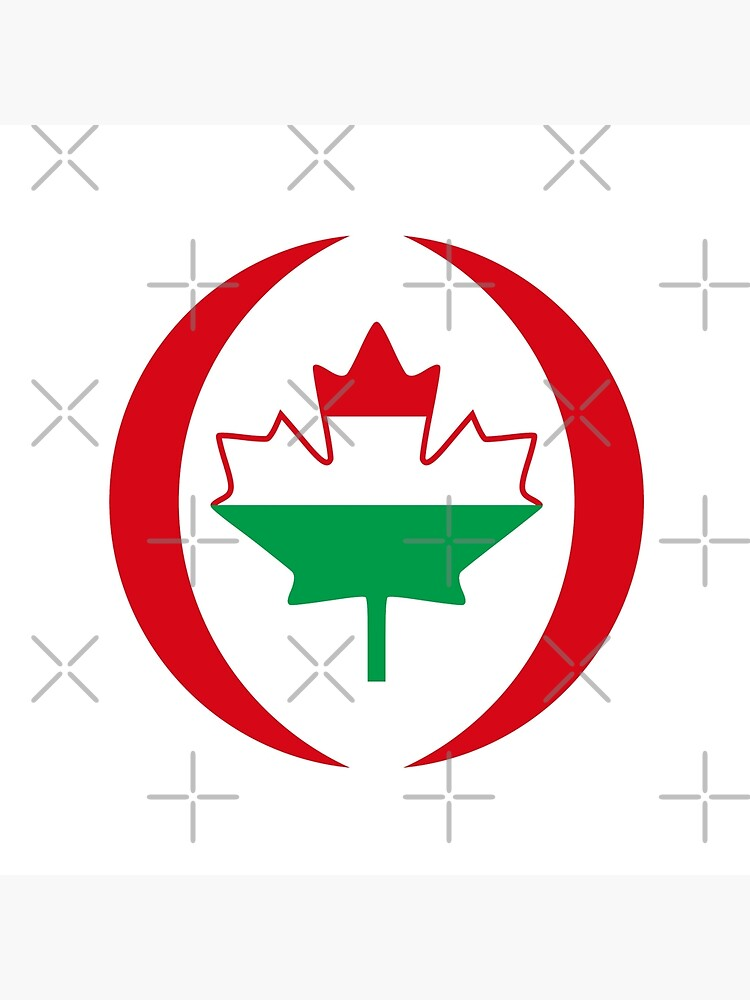 Hungarian Canadian Multinational Patriot Flag Series by carbonfibreme