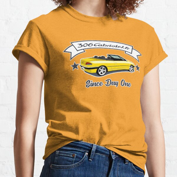 Since Day One -  Jaune Genêt / Ouragan T-shirt classique