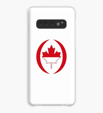 Indonesian Canadian Multinational Patriot Flag Series Case/Skin for Samsung Galaxy