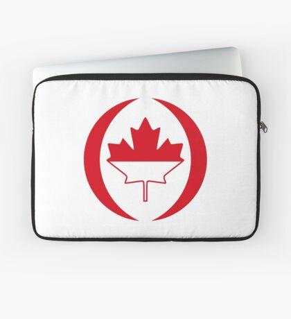 Indonesian Canadian Multinational Patriot Flag Series Laptop Sleeve