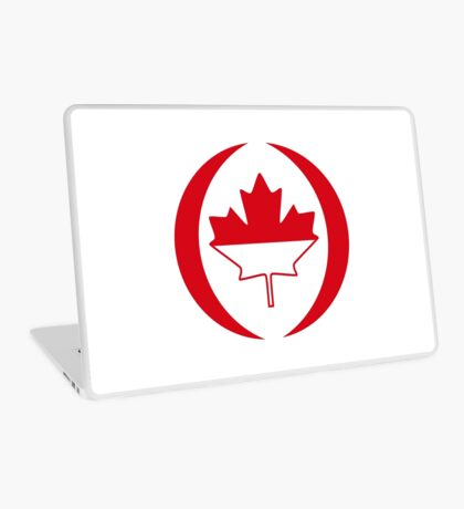 Indonesian Canadian Multinational Patriot Flag Series Laptop Skin