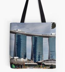 Marina Bay Sands Singapore Tote Bag