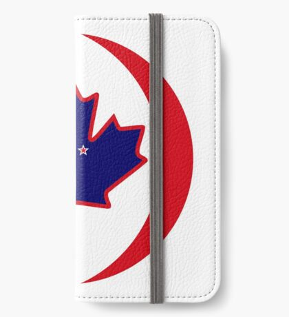 Kiwi Canadian Multinational Patriot Flag Series iPhone Wallet