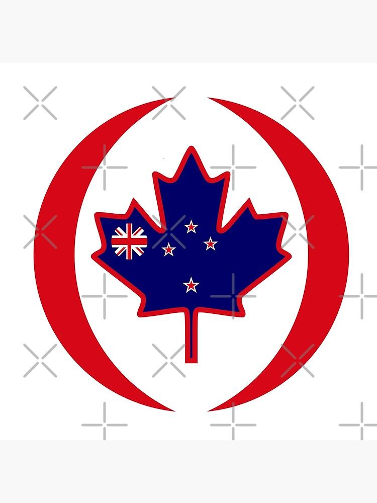 Kiwi Canadian Multinational Patriot Flag Series by carbonfibreme