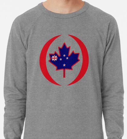 Kiwi Canadian Multinational Patriot Flag Series Lightweight Sweatshirt