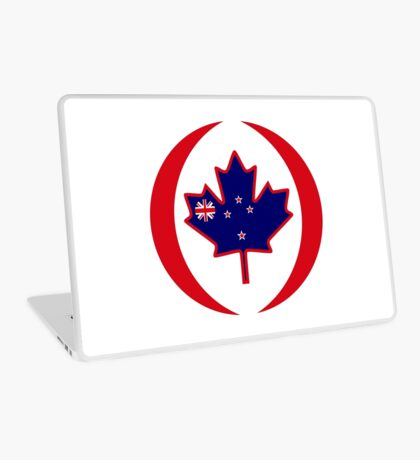 Kiwi Canadian Multinational Patriot Flag Series Laptop Skin
