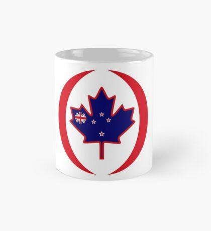 Kiwi Canadian Multinational Patriot Flag Series Mug