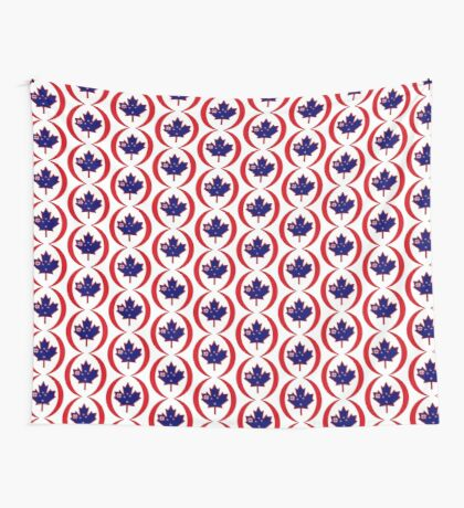 Kiwi Canadian Multinational Patriot Flag Series Wall Tapestry