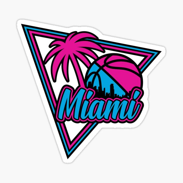 Miami City Basketball  Sticker