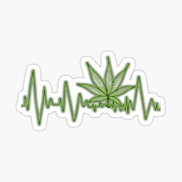Stoners pulse Sticker
