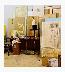 Artists Studio Photographic Print