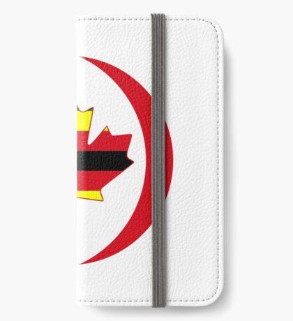 Zimbabwean Canadian Multinational Patriot Flag Series iPhone Wallet