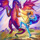 SAINT GEORGE AND THE DRAGON by Judy Mastrangelo