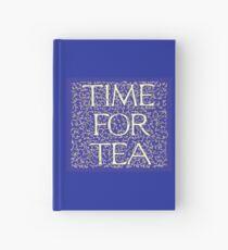 Time For Tea (Royal Blue) Hardcover Journal