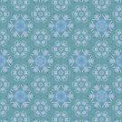 AQUA-batics variation 6 Greeny-blue geometric abstract pattern - jenny meehan by JennyMeehan
