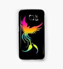 Colorful mythical bird Phoenix Samsung Galaxy Case/Skin