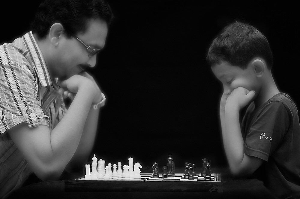 Playing Chess by Mukesh Srivastava