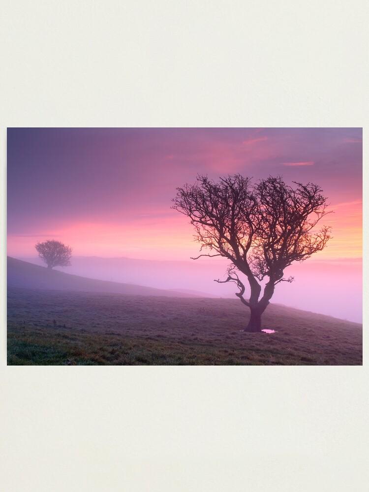 Alternate view of Misty sunrise, The Helm - Cumbria Photographic Print