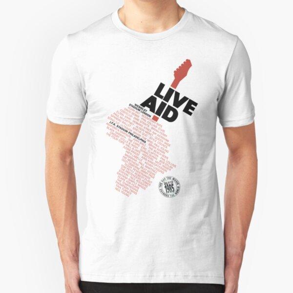 Der Tag, an dem die Musik die Welt veränderte Slim Fit T-Shirt